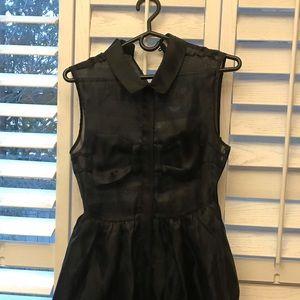 Black REHAB mini dress